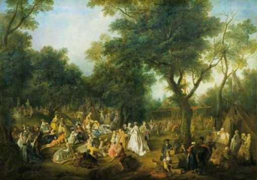 Fete in a Wood | Nicolas Lancret | Oil Painting