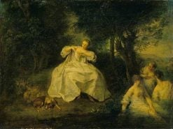 Women Bathing | Nicolas Lancret | Oil Painting