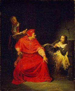 Joan of Arc in Prison | Paul Delaroche | Oil Painting