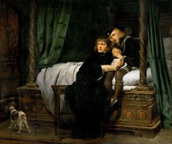 Edward V and the Duke of York in the Tower | Paul Delaroche | Oil Painting