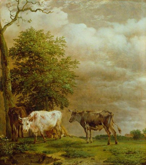 Cattle in Stormy Weather | Paulus Potter | Oil Painting