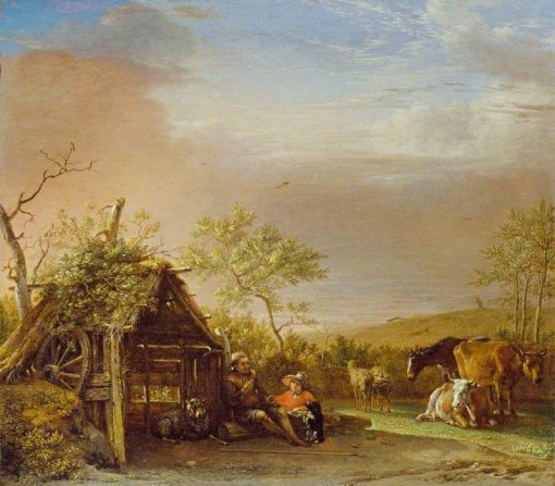 Herdsmen with Their Cattle | Paulus Potter | Oil Painting