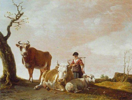 The Milkmaid | Paulus Potter | Oil Painting