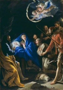 The Adoration of the Shepherds | Philippe de Champaigne | Oil Painting