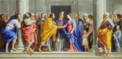 The Marriage of the Virgin | Philippe de Champaigne | Oil Painting