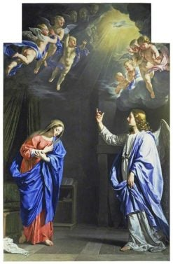 The Annunciation | Philippe de Champaigne | Oil Painting