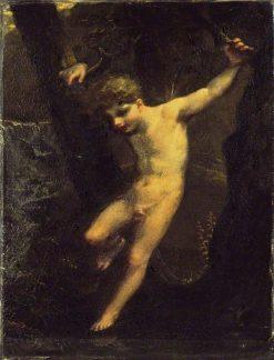 The Zephyr   Pierre Paul Prud'hon   Oil Painting