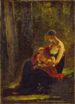 The Happy Mother | Pierre Paul Prud'hon | Oil Painting