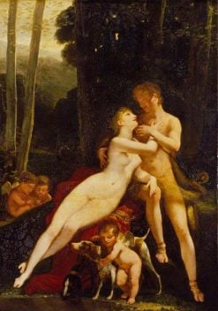 Venus and Adonis | Pierre Paul Prud'hon | Oil Painting