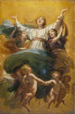 The Assumption of the Virgin | Pierre Paul Prud'hon | Oil Painting