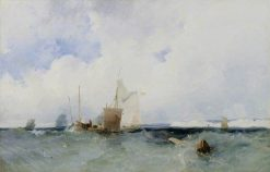 Sea Piece | Richard Parkes Bonington | Oil Painting