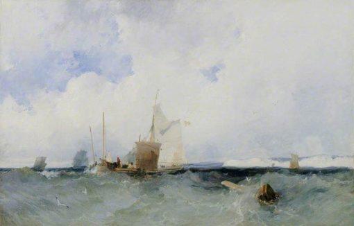 Sea Piece | Richard Parkes Bonington | Oil Painting