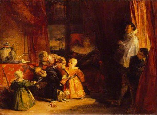 Henri VI and the Spanish Ambassador | Richard Parkes Bonington | Oil Painting