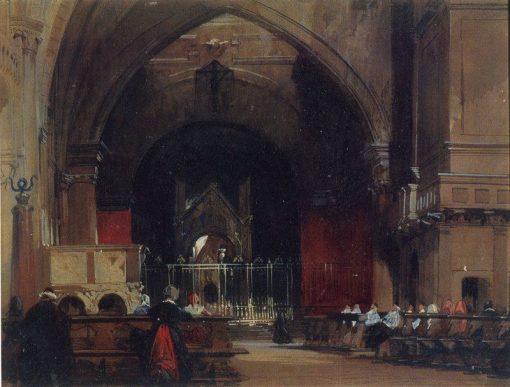 Interior of Sant'Ambrogio