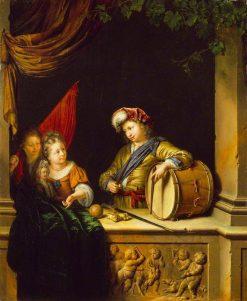 Children's Games | Willem van Mieris | Oil Painting