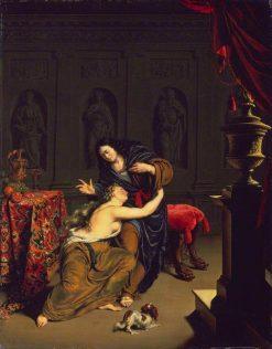 Joseph and Potiphar's Wife | Willem van Mieris | Oil Painting