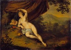 Venus and Cupid | Willem van Mieris | Oil Painting