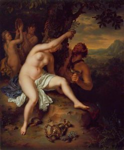 Bacchanalian Scene | Willem van Mieris | Oil Painting
