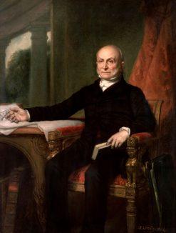 John Quincy Adams | George Peter Alexander Healy | Oil Painting