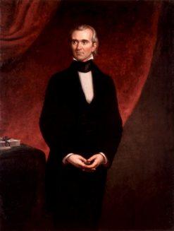 James Knox Polk | George Peter Alexander Healy | Oil Painting