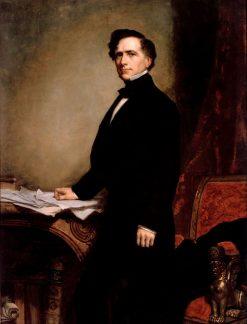 Franklin Pierce | George Peter Alexander Healy | Oil Painting
