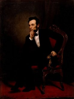 Abraham Lincoln | George Peter Alexander Healy | Oil Painting