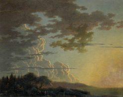 Setting Sun | Alexander Cozens | Oil Painting