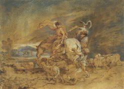 A Patriarchal Journey | Giovanni Castiglione | Oil Painting