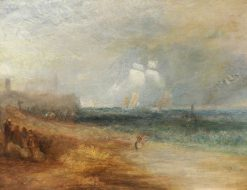 View of the Beach at Margate | Joseph Mallord William Turner | Oil Painting