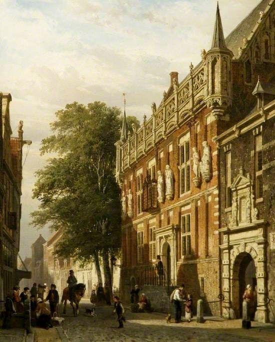 The Stadhuis at Kampen