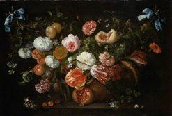 A Garland of Flowers | Jan Davidsz. de Heem | Oil Painting