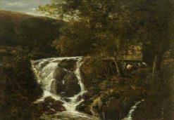 Landscape with a Waterfall near Norwich