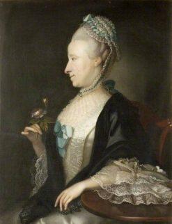 Elizabeth Hughes | Joseph Blackburn | Oil Painting