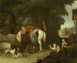 The Sale of the Pet Calf | William Collins | Oil Painting