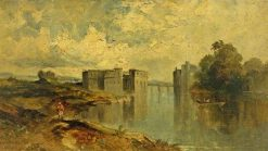An Eastern Scene | William James Muller | Oil Painting