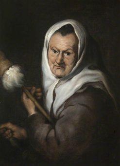 Woman with a Distaff | BartolomE Esteban Murillo | Oil Painting