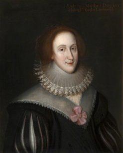 Lady Jane Maitland (1612-1631) | George Jamesone | Oil Painting