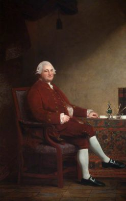 Anthony Todd (1716-1798) | George Romney | Oil Painting