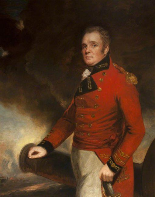 Lieutenant General Sir Thomas Maitland (1759-1824)   John Hoppner   Oil Painting
