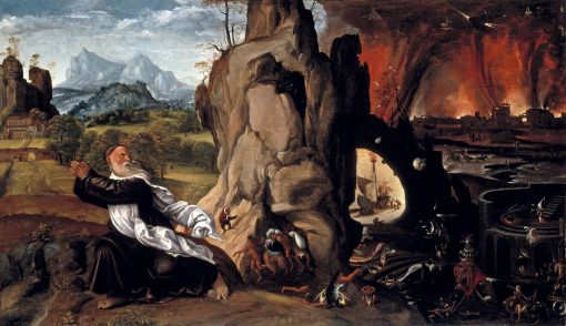 Torment of St. Anthony | Giovanni Girolamo Savoldo | Oil Painting
