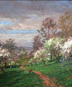 Apple Blossoms | Jasper Francis Cropsey | Oil Painting