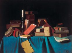 In the Library | John Frederick Peto | Oil Painting
