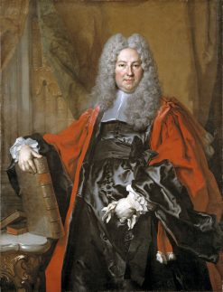 Portrait of Barthélemy-Jean-Claude Pupil | Nicolas de Largilliere | Oil Painting