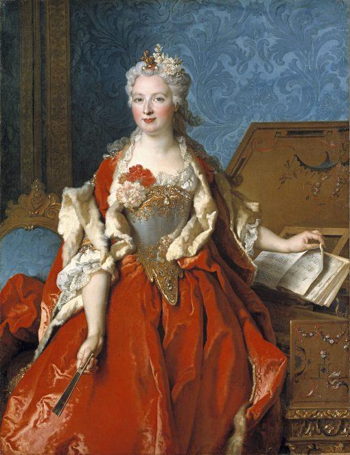 Portrait of Marguerite de Seve