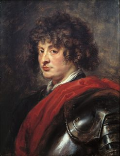 Portrait of a Young Man in Armor | Peter Paul Rubens | Oil Painting