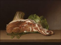 Cutlet and Vegetables | Rembrandt Peale | Oil Painting