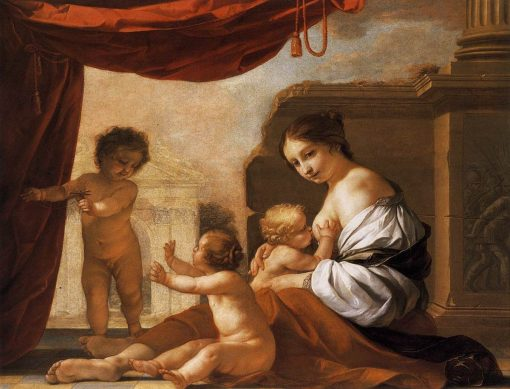 Allegory of Charity | Jacques Blanchard | Oil Painting