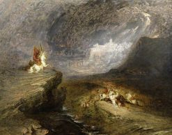Battle Scene: The Fire Worshippers | John Martin | Oil Painting