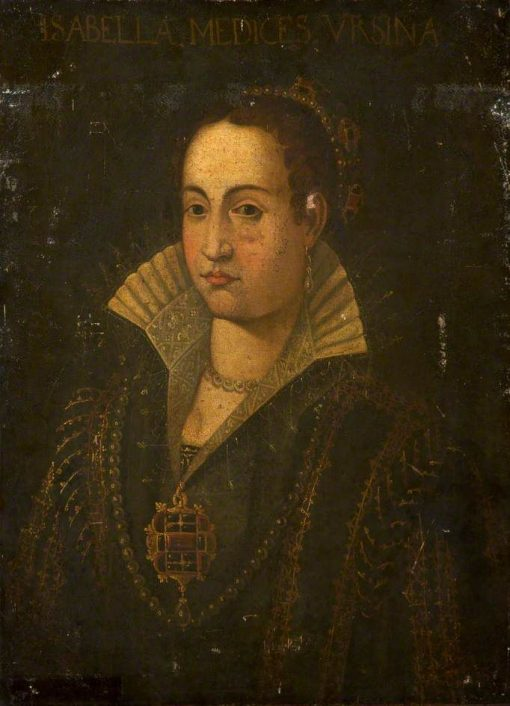 Isabella Medicis Ursina | Alessandro Allori | Oil Painting