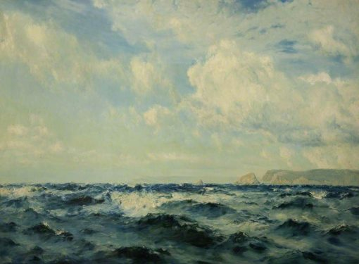 A Breezy Day off the Isle of Wight | Henry Moore | Oil Painting